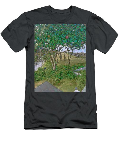 Dawn At Peaks Island Bay Men's T-Shirt (Athletic Fit)