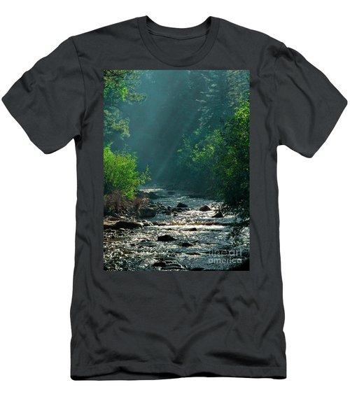 Pecos River Spring Men's T-Shirt (Athletic Fit)