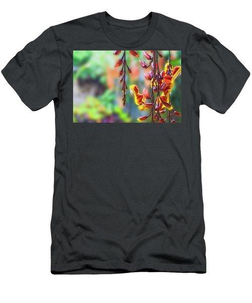 Pending Flowers Men's T-Shirt (Athletic Fit)