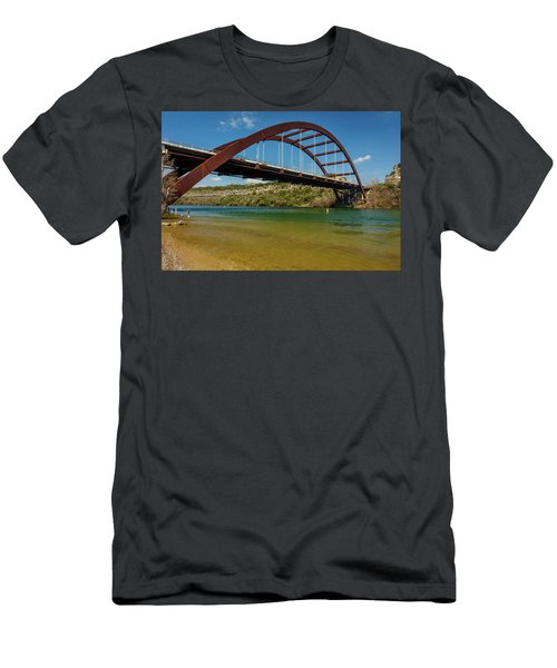 Pennybacker 360 Bridge, Austin, Texas Men's T-Shirt (Athletic Fit)