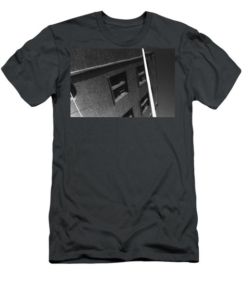 Men's T-Shirt (Slim Fit) featuring the photograph Peoples Home by Steven Macanka