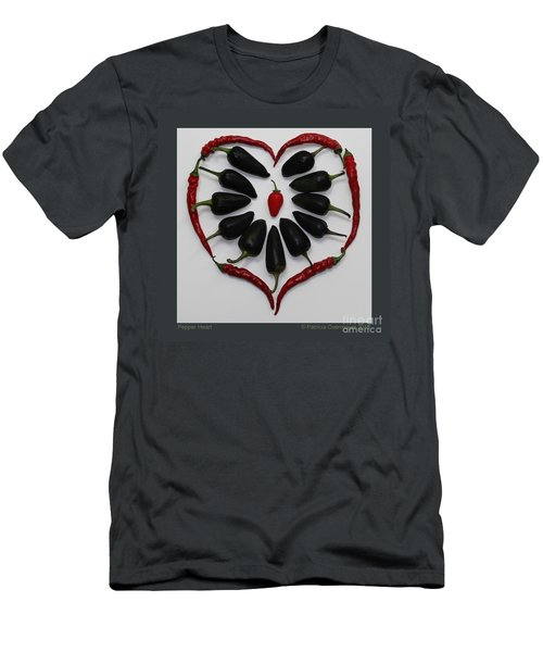 Pepper Heart Men's T-Shirt (Athletic Fit)