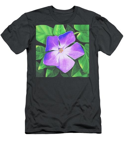 Periwinkle Men's T-Shirt (Athletic Fit)
