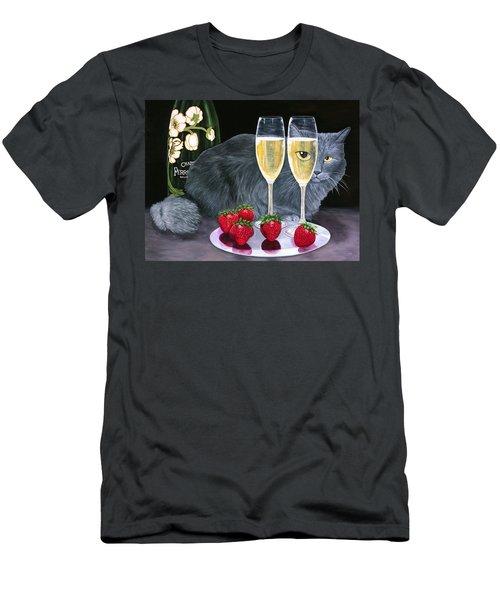 Perrier Jouet Et Le Chat Men's T-Shirt (Athletic Fit)