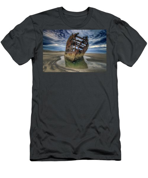 Peter Iredale At Dawn Men's T-Shirt (Athletic Fit)