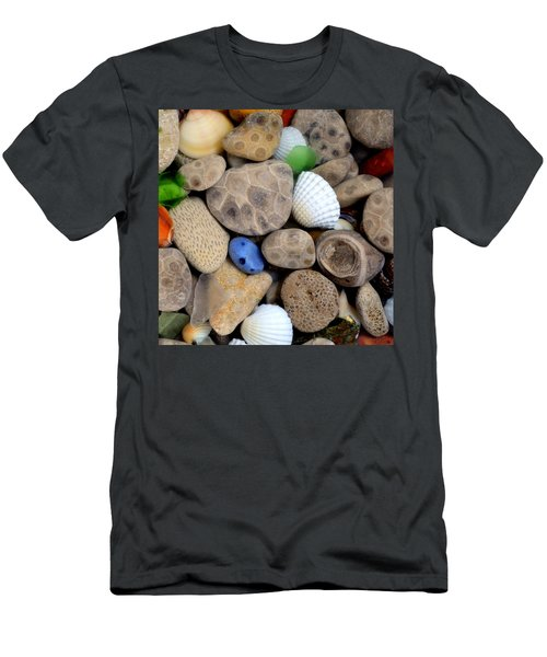 Petoskey Stones V Men's T-Shirt (Athletic Fit)