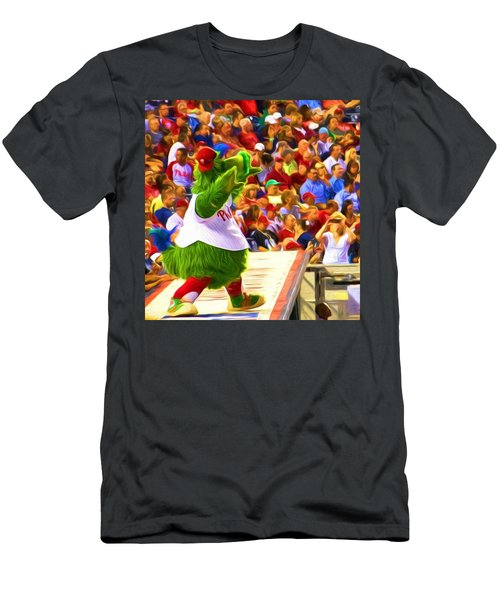 Phanatic In Action Men's T-Shirt (Athletic Fit)