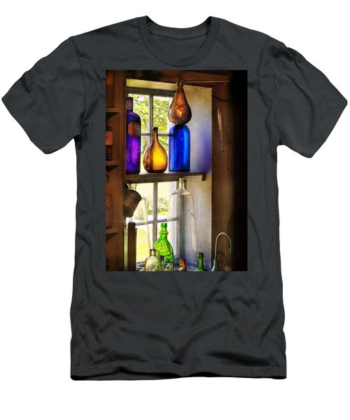 Pharmacy - Colorful Glassware  Men's T-Shirt (Athletic Fit)