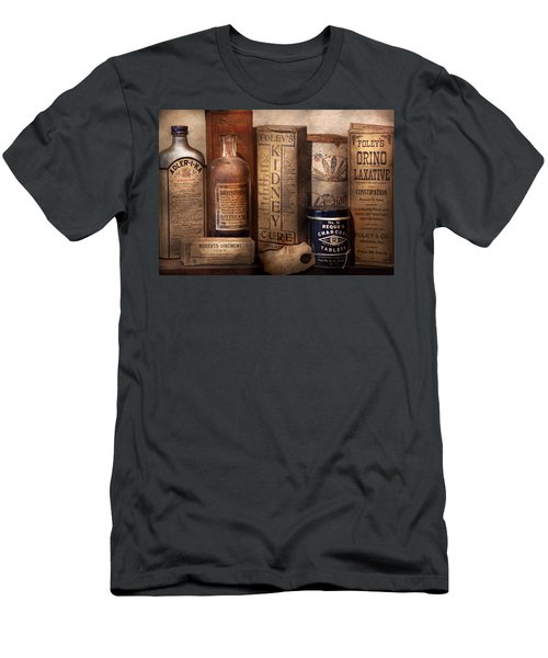 Pharmacy - Cures For The Bowels Men's T-Shirt (Athletic Fit)