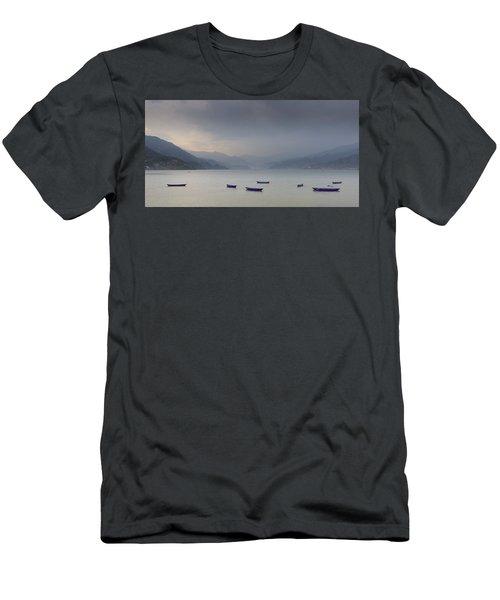 Phewa Lake In Pokhara Men's T-Shirt (Athletic Fit)
