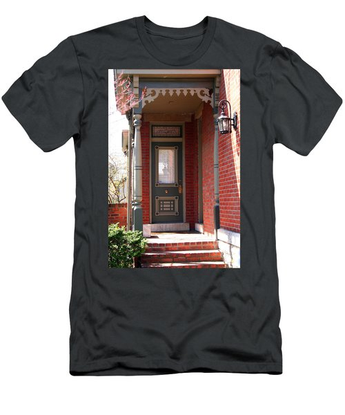Picturesque Porch Men's T-Shirt (Athletic Fit)