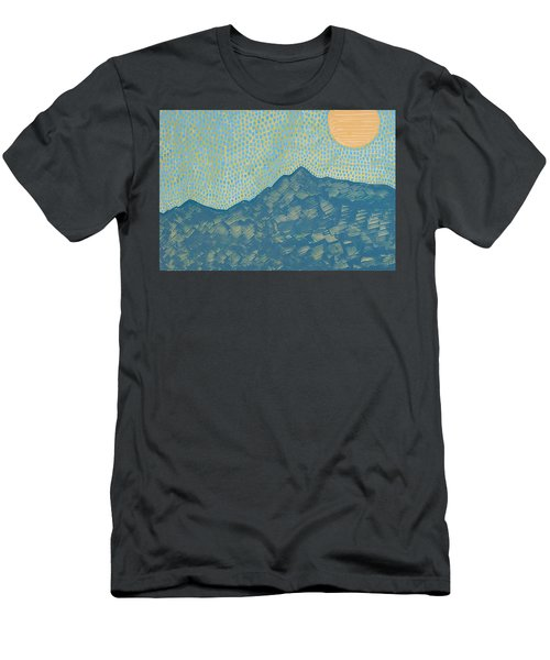 Picuris Mountains Original Painting Men's T-Shirt (Athletic Fit)