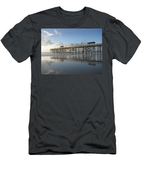 Pier Reflection Men's T-Shirt (Athletic Fit)