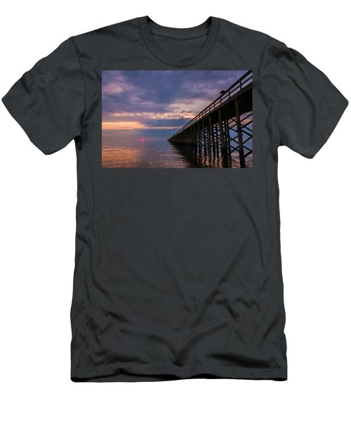Pier To The Horizon Men's T-Shirt (Athletic Fit)