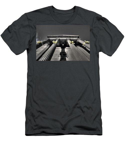 Men's T-Shirt (Slim Fit) featuring the photograph Pillard by David Andersen