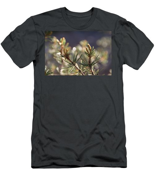 Men's T-Shirt (Slim Fit) featuring the photograph Pine by David S Reynolds