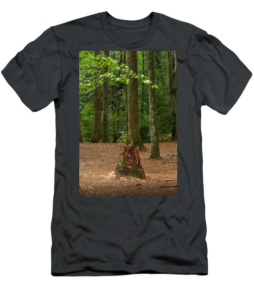 Pine Stump Men's T-Shirt (Athletic Fit)