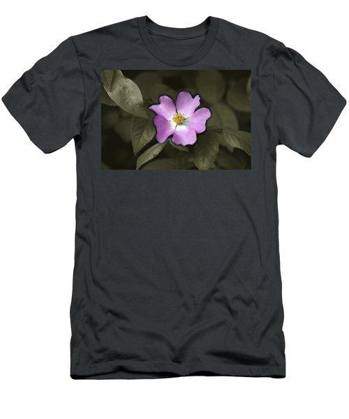 Prairie Rose Men's T-Shirt (Athletic Fit)