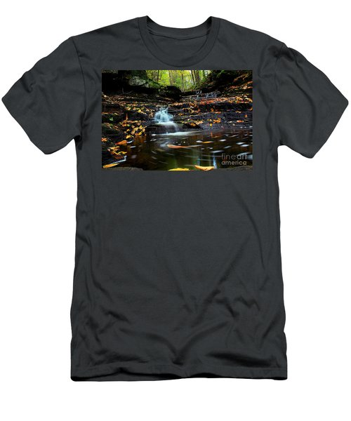 Pipestem Falls Men's T-Shirt (Athletic Fit)