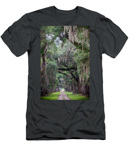 Plantation Path Men's T-Shirt (Athletic Fit)