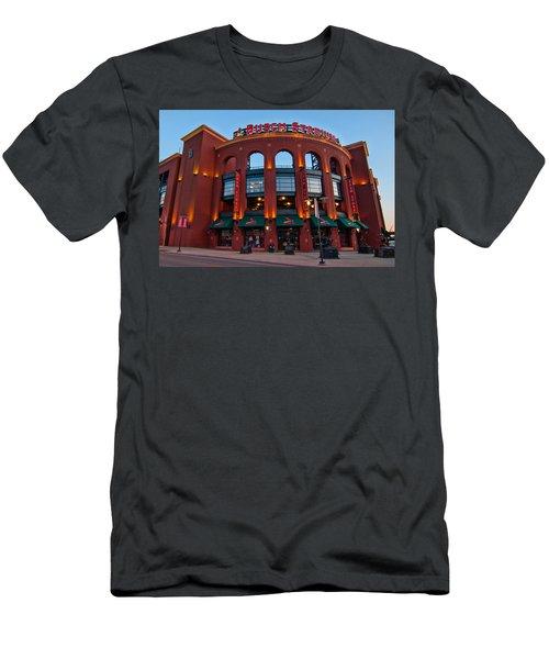 Play Ball Men's T-Shirt (Slim Fit) by Steve Stuller