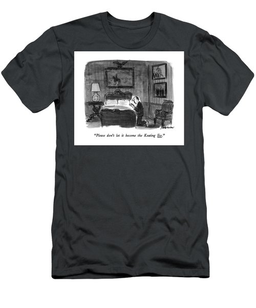 Please Don't Let It Become The Keating Six Men's T-Shirt (Athletic Fit)