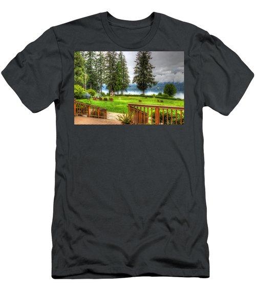 Please Take Me Back Men's T-Shirt (Athletic Fit)