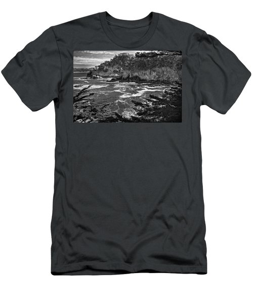 Men's T-Shirt (Slim Fit) featuring the photograph Point Lobo  by Ron White
