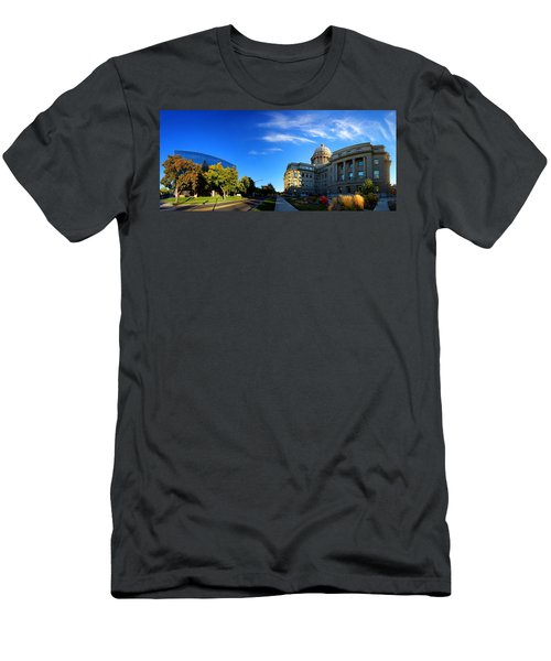 Men's T-Shirt (Slim Fit) featuring the photograph Political Warping by David Andersen