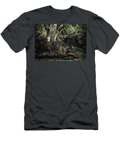 Pond Apple-1 Men's T-Shirt (Athletic Fit)