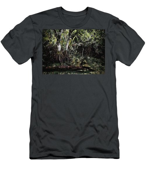Pond Apple-1 Men's T-Shirt (Athletic Fit)