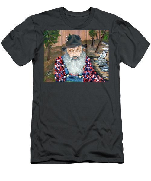 Popcorn Sutton - Moonshine Legend - Landscape View Men's T-Shirt (Athletic Fit)