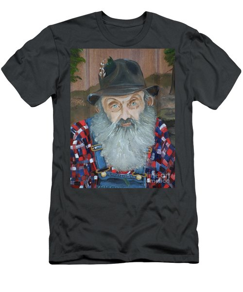 Popcorn Sutton - Moonshiner - Portrait Men's T-Shirt (Athletic Fit)