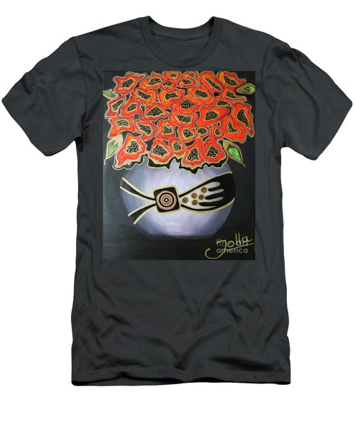 Poppies Revisited.. Men's T-Shirt (Athletic Fit)