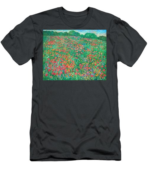 Poppy View Men's T-Shirt (Athletic Fit)
