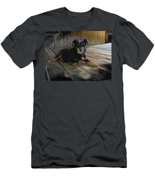 Porch Patrol Men's T-Shirt (Athletic Fit)
