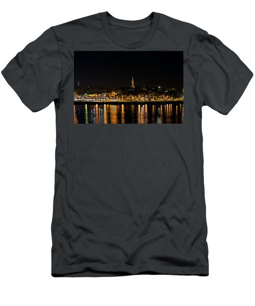 Port Lights Men's T-Shirt (Athletic Fit)