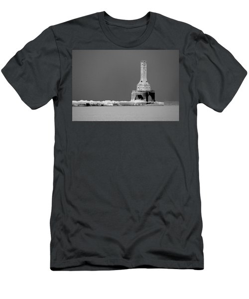 Port Washington Harbor Men's T-Shirt (Slim Fit) by Tiffany Erdman