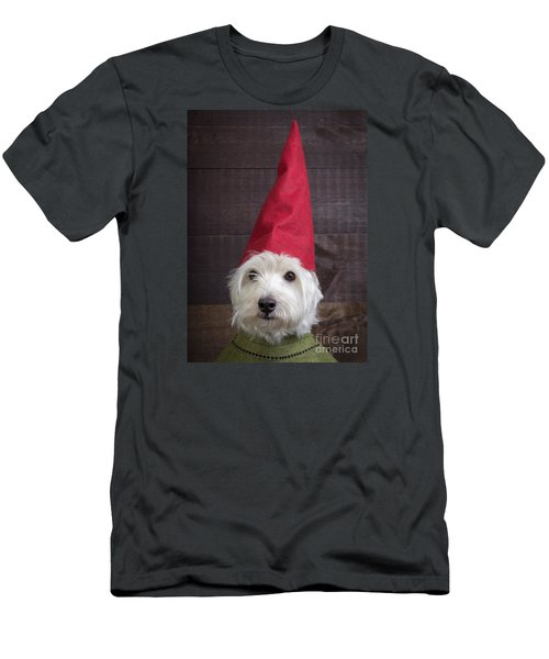 Portrait Of A Garden Gnome Men's T-Shirt (Athletic Fit)