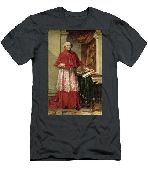 Portrait Of Cardinal Joseph Fesch 1763-1839 1806 Oil On Canvas Men's T-Shirt (Athletic Fit)