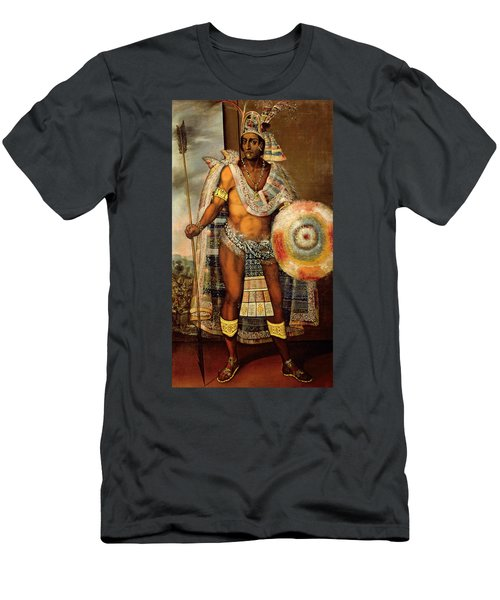 Portrait Of Montezuma II Men's T-Shirt (Athletic Fit)