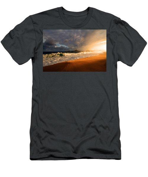 Men's T-Shirt (Slim Fit) featuring the photograph Power by Eti Reid