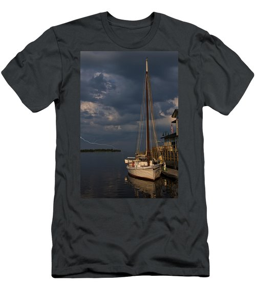 Preparing For The Storm Men's T-Shirt (Slim Fit) by Chris Flees