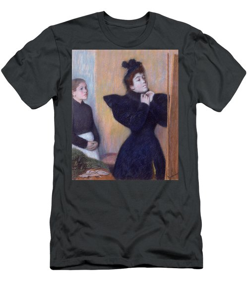 Preparing To To Out, 1894 Pastel Men's T-Shirt (Athletic Fit)