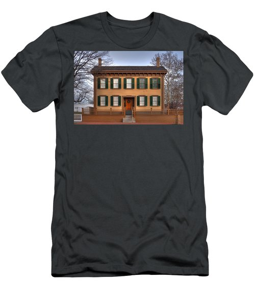President Lincoln Home Springfield Illinois Men's T-Shirt (Athletic Fit)