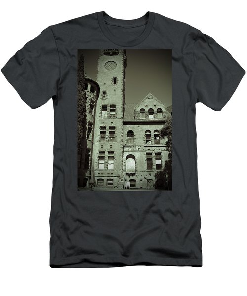 Preston Castle Tower Men's T-Shirt (Slim Fit) by Holly Blunkall