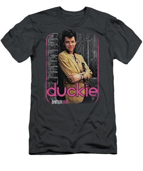 Pretty In Pink - Just Duckie Men's T-Shirt (Athletic Fit)