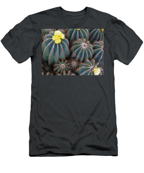 Prickly Beauties Men's T-Shirt (Slim Fit) by Evelyn Tambour
