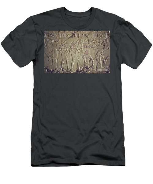 Private Tomb Of Kheruef Kheruf Cheriuf Tt 192 Asasif-stock Image-fine Art Print-valley Of The Kings Men's T-Shirt (Athletic Fit)