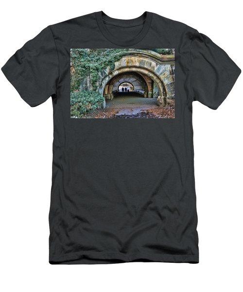 Prospect Park Passage - Brooklyn Men's T-Shirt (Slim Fit) by Jeffrey Friedkin